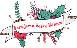 Logo Darujeme české Vánoce